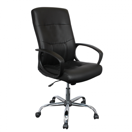 Офис стол-6030 черен