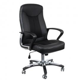 Офис стол-6051 черен