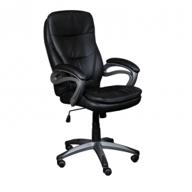 Офис стол-6056 черен