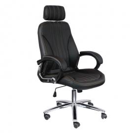 Офис стол-6058 черен
