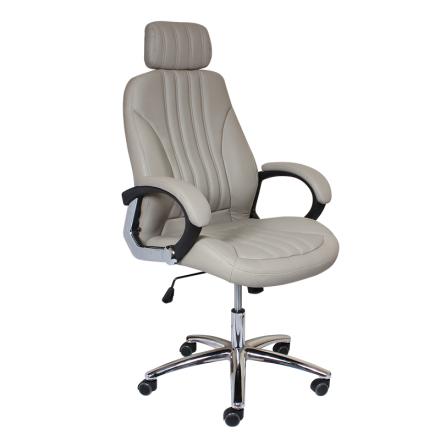 Офис стол-6058 сив