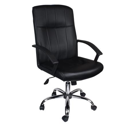 Офис стол-6077 черен