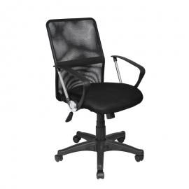 Офис стол-6086 черен