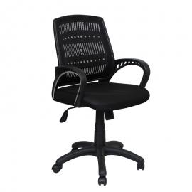 Офис стол-7011 черен