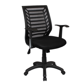 Офис стол-7014 черен