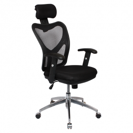 Офис стол-7016 черен