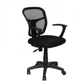 Офис стол -7018 черен