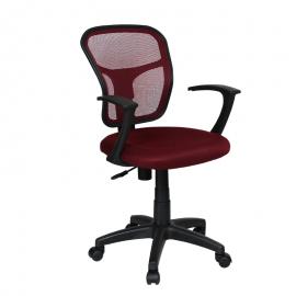 Офис стол-7018 червен