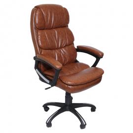 Офис стол-6034 кафяв