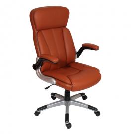 Офис стол-6035 тъмно оранжев