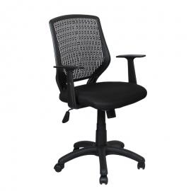 Офис стол-7010 черен