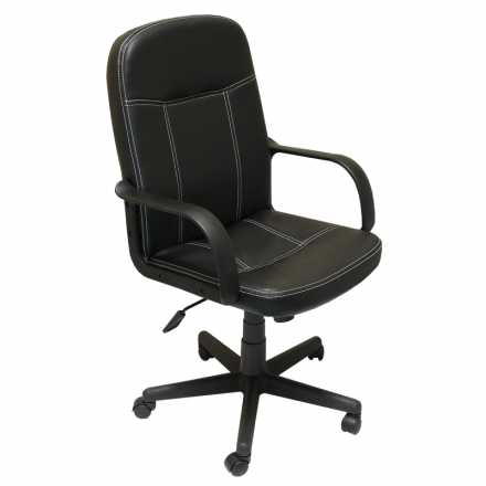 Офис стол-6089 черен