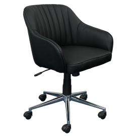 Офис кресло-2008 черен