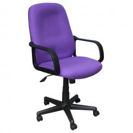 Офис стол-6001 лилав