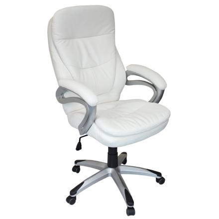 Офис стол-6056 бял