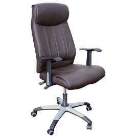 Офис стол-6036 кафяв