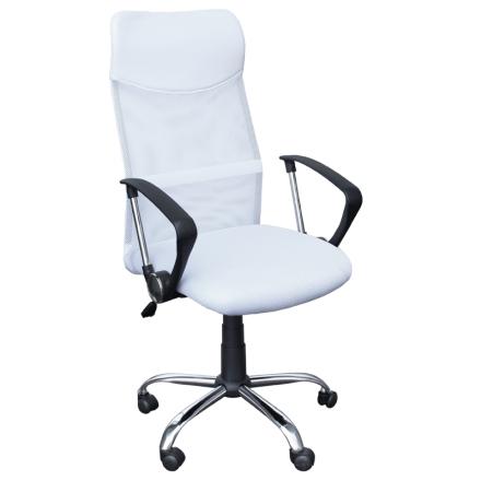 Офис стол-6083 бял