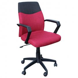 Офис стол-6002 червен