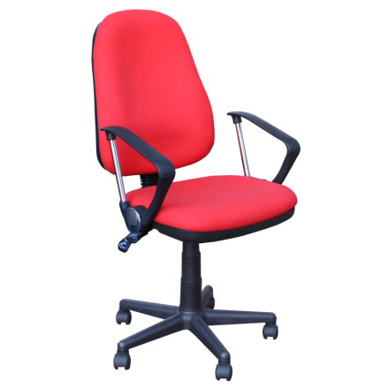 Офис стол-7069 червен