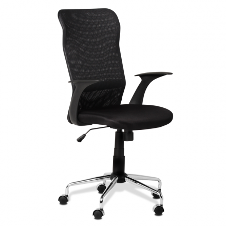 Офис стол-7030 черен