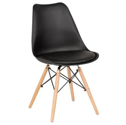 Трапезен стол-9960 черен