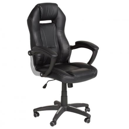 Офис стол-6189 черен
