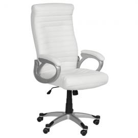 Офис стол-6190 бял