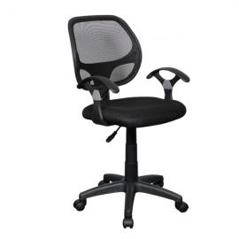 Офис стол – 7013-1 черен