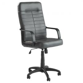 Офис стол Ledli – тъмно сив