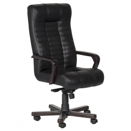 Офис стол-Atlas черен