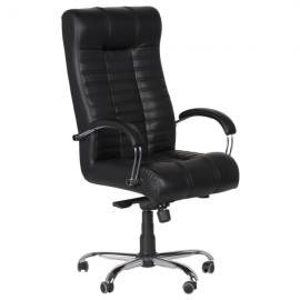 Офис стол-Utopia черен LUX