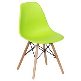 Трапезен стол-9957 ярко зелен
