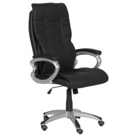 Офис стол-6503 черен LUX