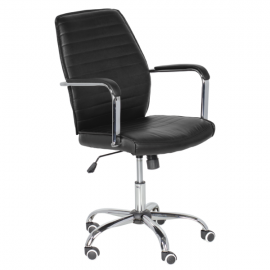 Офис стол-6174 черен