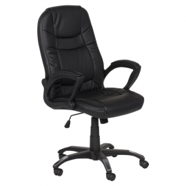 Офис стол 7504 – черен