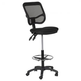 Офис стол 7552 – черен
