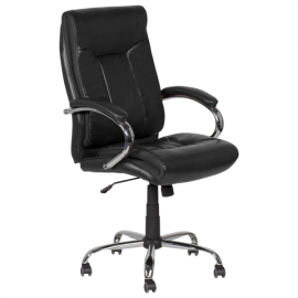 Офис стол-6508 черен