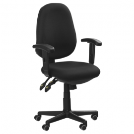 Офис стол-6199 черен