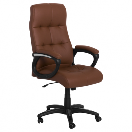 Офис стол – 6504 кафяв