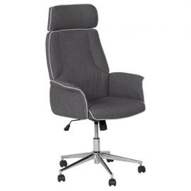 Офис кресло-7508 сив