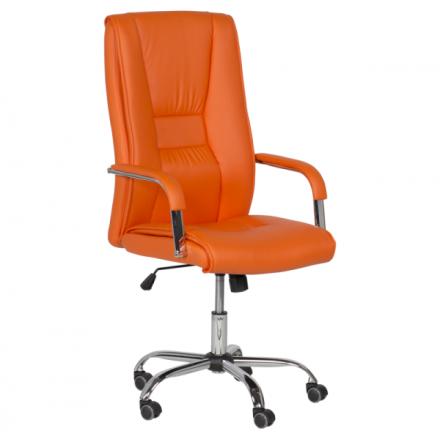 Офис стол-6500 оранжев