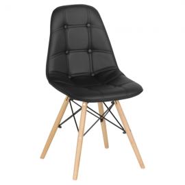 Трапезен стол-9962 черен