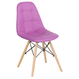 Трапезен стол-9962 лилав