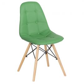 Трапезен стол-9962 зелен