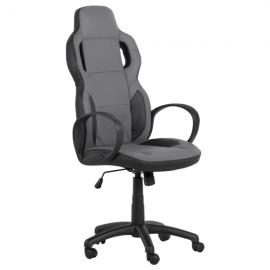 Офис стол 7510 – черен/сив