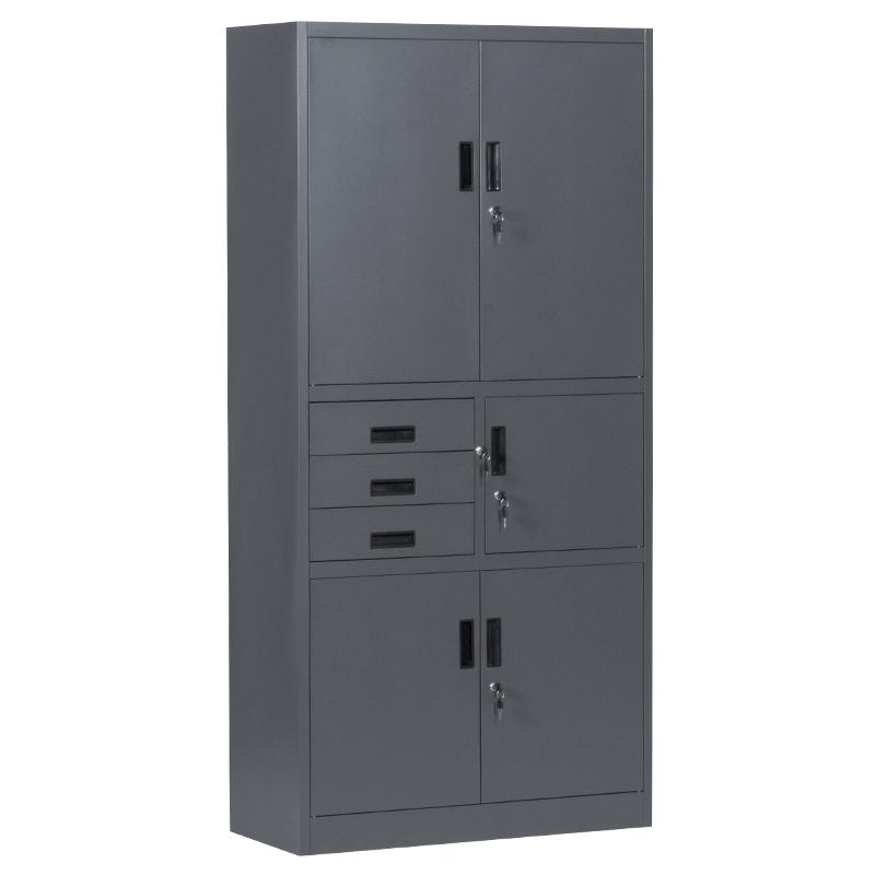 Метален шкаф - CR 1281 E SAND графит