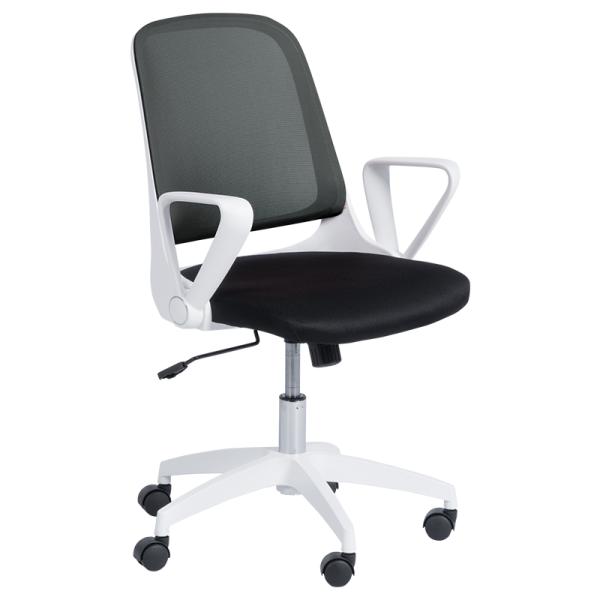 Офис стол - 7033 сиво/черен