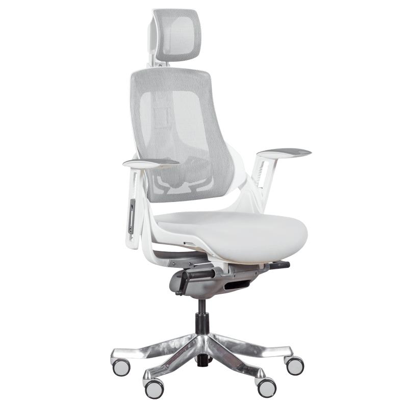 Офис стол-Ambra бял