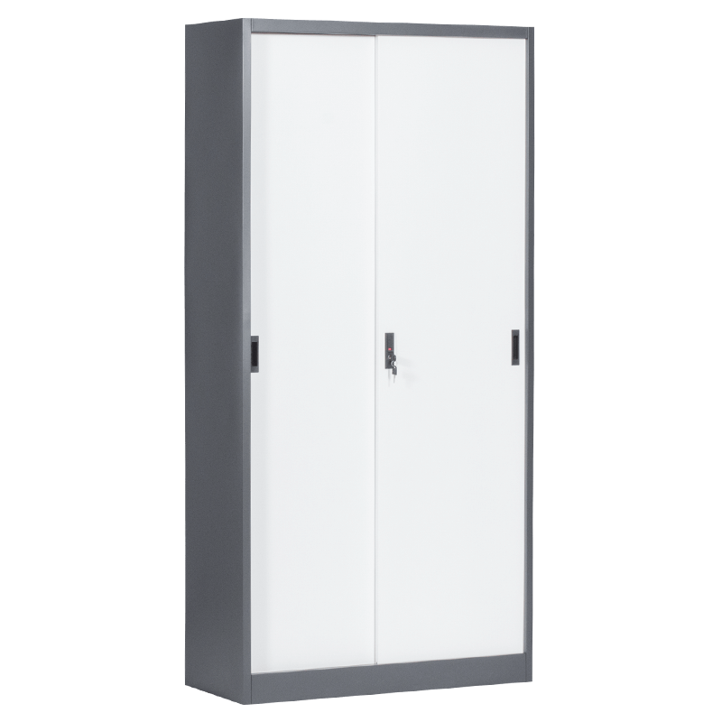 Метален шкаф - CR 1266 E SAND 90 бял-графит