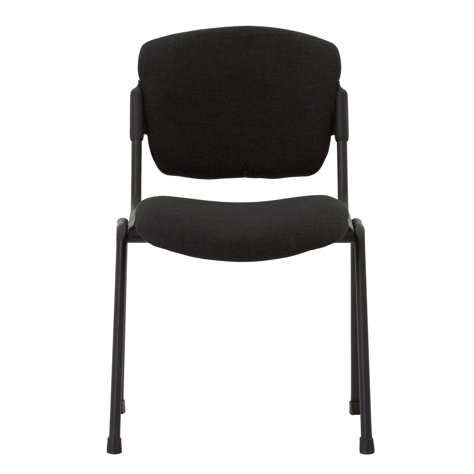 Посетителски стол - Era Black черен